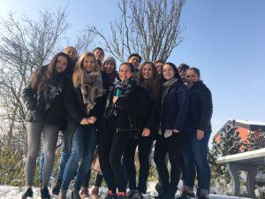 "Der Jugendvorstand 2017 während des Projekts ""Jugendvorstand in da House"""