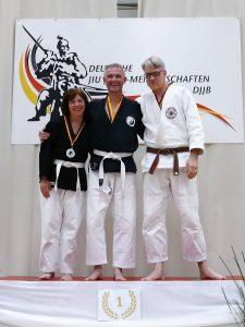 Peter Fischer, erfolgreichster Wettkämpfer des ZBD (Mitte)